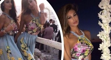 Donatella Buccino sposa l'imprenditore Guido: le sorelle diventano damigelle sexy