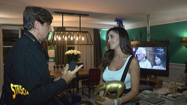 """""""Striscia la notizia"""", primo Tapiro d?oro della 30sima edizione a Belen Rodriguez"""