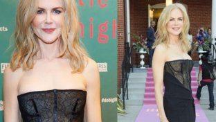 Nicole Kidman e il vestito fuori luogo