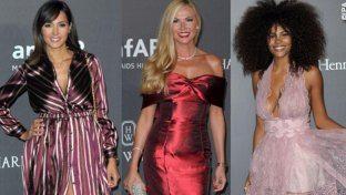 Tutti gli outfit delle star all'AmfAR Gala