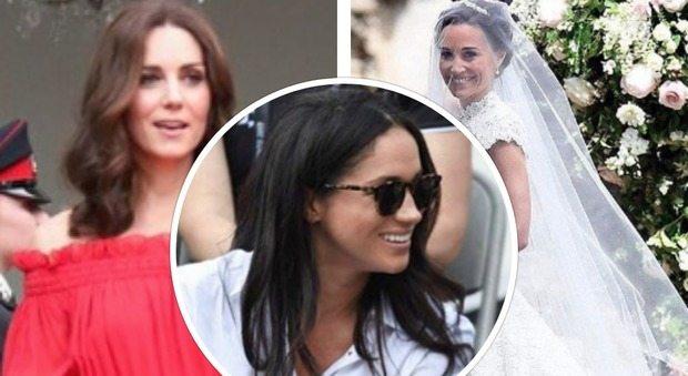 """Kate Middleton e Pippa su tutte le furie con Meghan, la fidanzata del principe Harry. """"Le ha provocate..."""""""