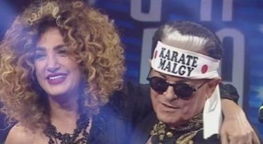 """Marcella Bella fa commuovere Malgoglio. Gaffe De Lellis """"È Mina!"""""""