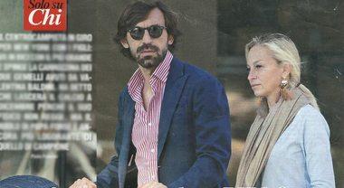 """Andrea Pirlo """"pronto a lasciare il calcio"""", eccolo con Valentina Baldini e i gemellini a New York"""