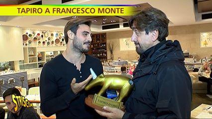 """Francesco Monte riceve Tapiro speciale da Striscia La Notizia e su Cecilia: """"Non la perdono"""""""