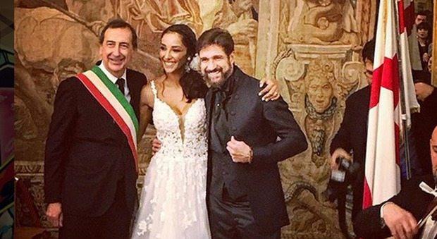 """Juliana Moreira ed Edoardo Stoppa, matrimonio a Milano: """"Dieci anni d'amore e due figli"""""""