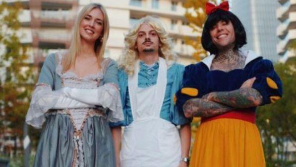 """Chiara Ferragni e Fedez, ecco la loro """"favola"""" di Halloween"""