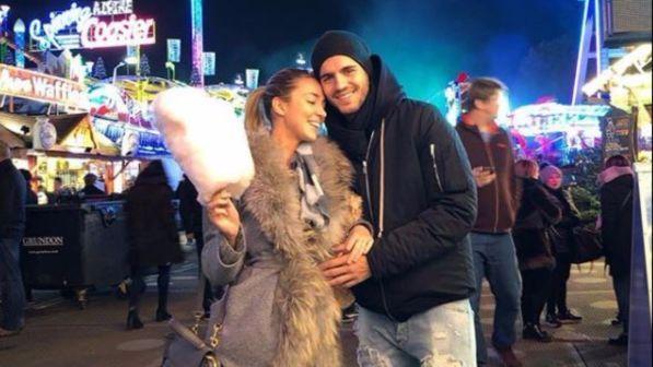 Alvaro Morata e Alice Campello, pancino sospetto al luna park