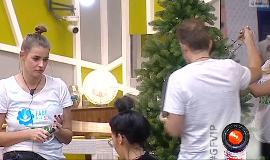 """""""Grande Fratello Vip"""", c?è aria di Natale tra albero e palle autografate"""