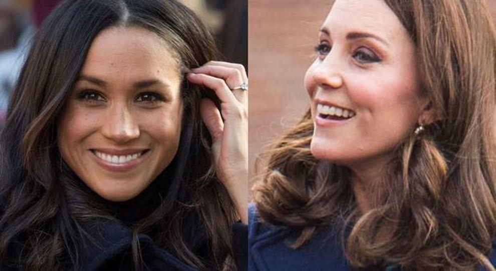 Meghan Markle e Kate Middleton, tutte le differenze delle donne della famiglia reale