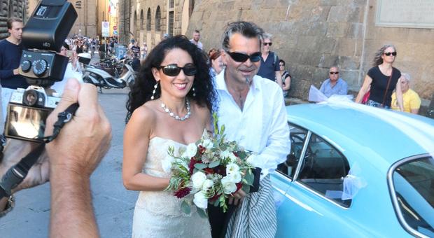 Piero Pelù si sposa a 57 anni: «Benvenuta nella mia tribù, Gianna»