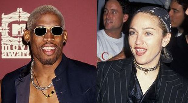 Dennis Rodman, campione Nba, rivela: «Madonna mi offrì 20 milioni per metterla incinta». La risposta