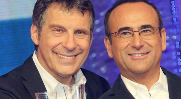 Carlo Conti in lacrime a Domenica in per Fabrizio Frizzi: «Un fratello che ho conosciuto tardi»