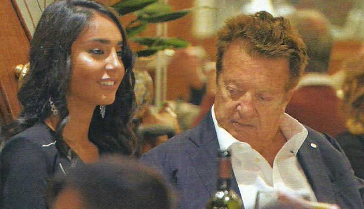 Vittorio Cecchi Gori dopo l'operazione: pranzo col figlio e cena con la Miss Sofia Marilù Trimarco