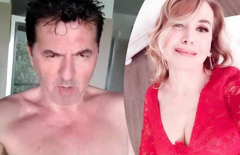 Teo Mammucari nudo su Instagram per Barbara D'Urso: 'Spendi questi diecimila euro e beccate sto fusto'