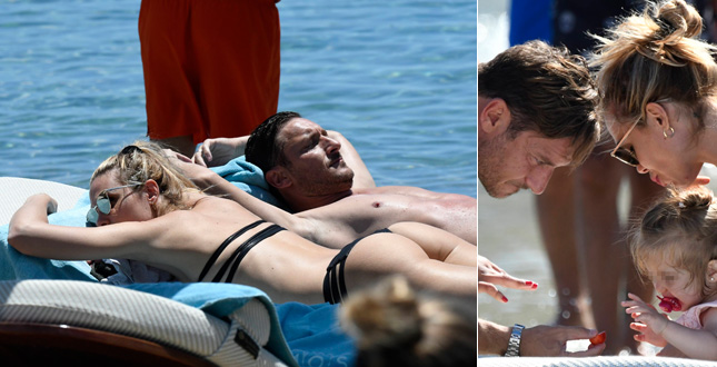 Totti e Ilary Blasi come Sandra e Raimondo: la loro vita diventa la sit com