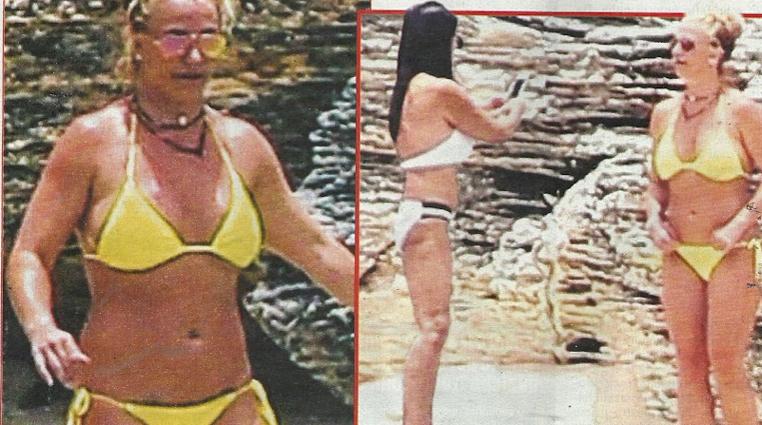 """Britney Spears in bikini nell'isola dei Caraibi, """"isolata"""" dalla mamma per salvarla"""