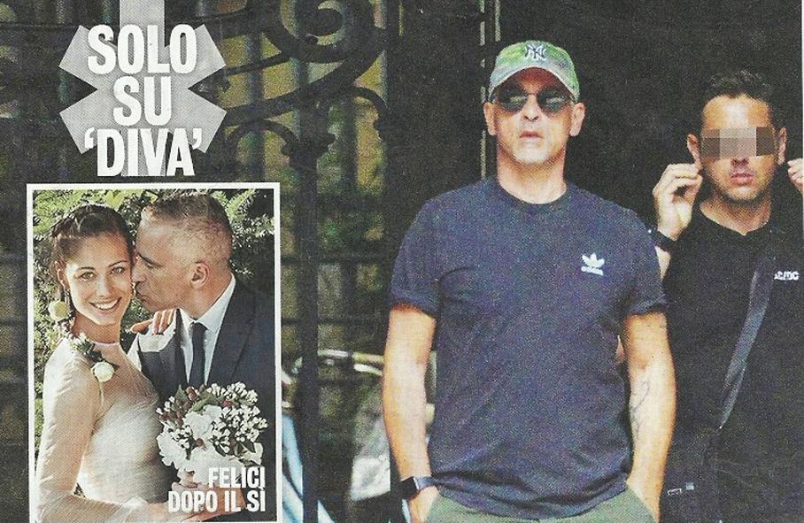 Eros Ramazzotti single, eccolo mentre esce dalla sua nuova casa dopo la separazione da Marica Pellegrinelli
