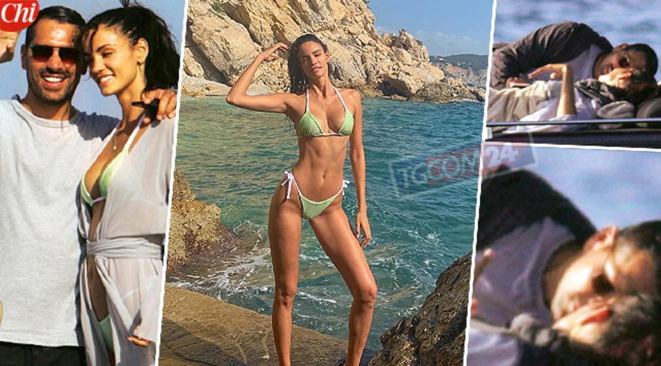 Marco Borriello a Ibiza con Sofia progetta il futuro