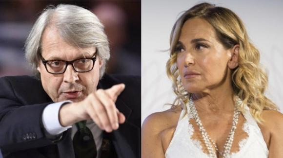 Vittorio Sgarbi dopo la furiosa lite con Barbara D'Urso: «Fuori dai programmi Mediaset»