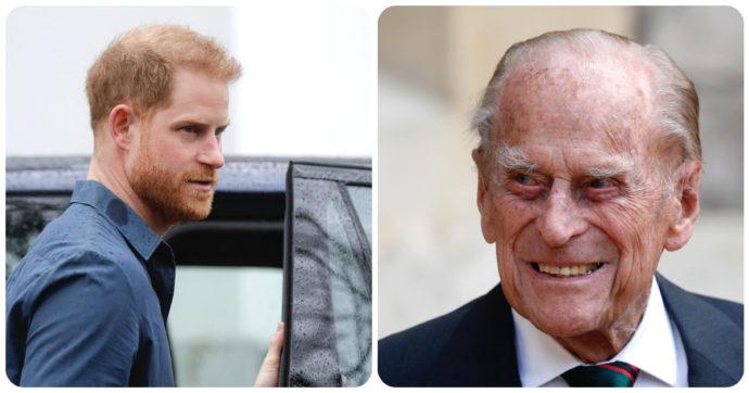 Harry richiamato a Londra, il macabro sospetto sulla salute del Principe Filippo