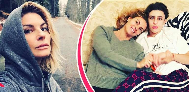 Martina Colombari confessa: «Io e Billy dallo psicologo per le liti con nostro figlio adolescente»