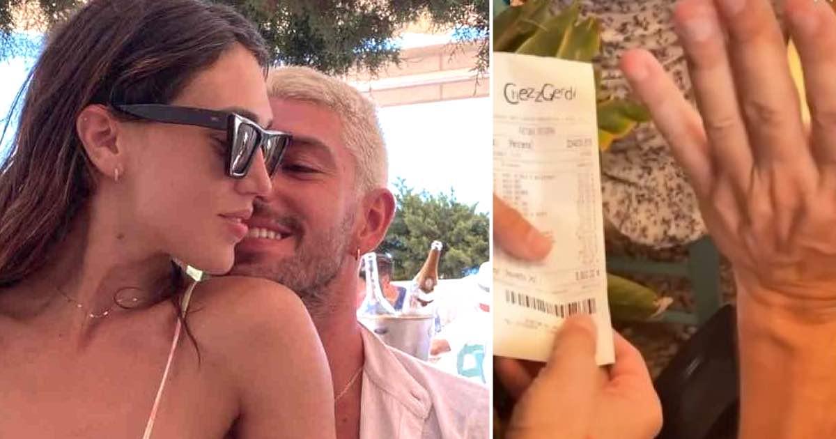 Ignazio e Cecilia a Ibiza, lo scontrino esorbitante della cena di lusso. Fan furiosi: «Schiaffo alla miseria». Lui spiega tutto