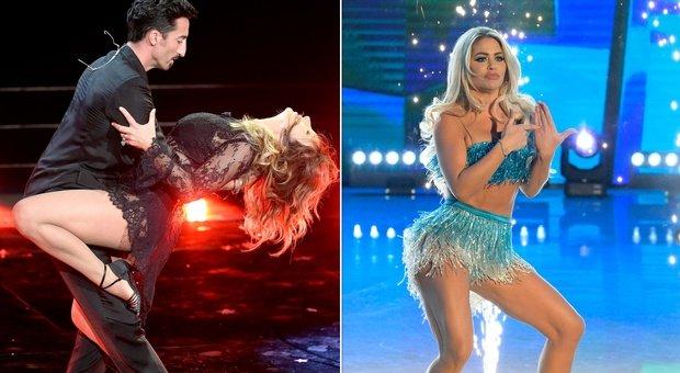 Ballando con le Stelle, la prima puntata è hot: Sabrina Salerno «in trasparenza», sexy Bianca Gascoigne