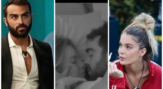 GF Vip, scoppia la passione sotto le coperte fra Gianmaria e Sophie. L'ex di lui commenta: «Complimenti»