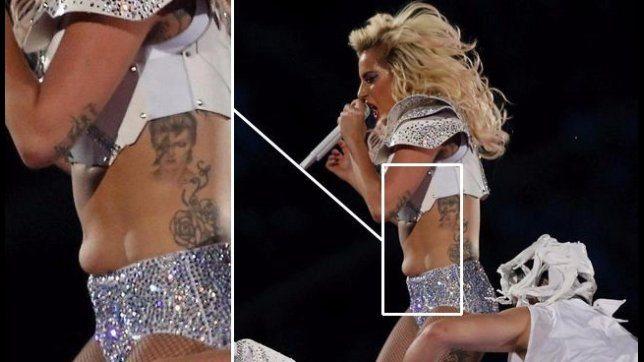Critiche a lady Gaga per i rotoli sulla sua pancia