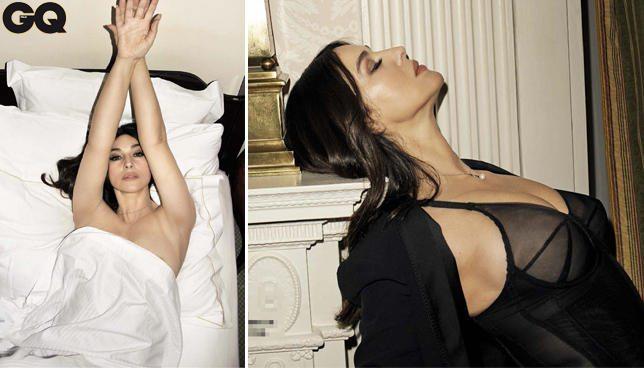 """Monica Bellucci a nvdo su GQ:""""devo tutto agli uomini"""""""