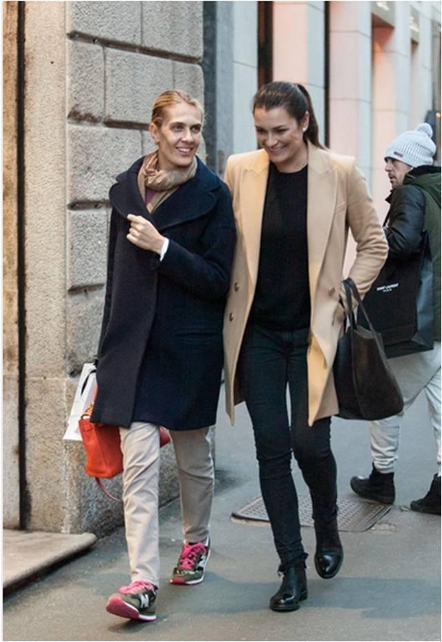 Per la cognata di Lapo shopping milanese con Alena Seredova