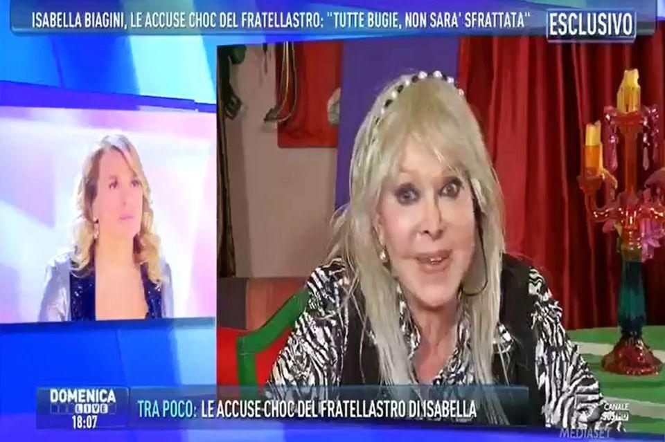 Isabella Biagini dalla D'Urso: