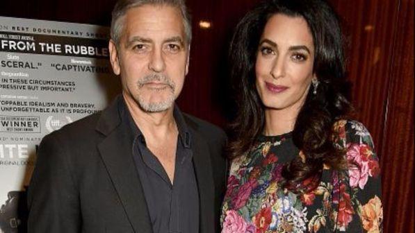 Clooney e Amal: genitori a marzo? Guarda il pancino...