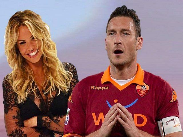 """Totti choc: """"Sono della Lazio e Ilary e' incinta"""". Il capitano della Roma in campo contra le bufale"""