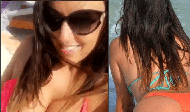 Claudia Romani sexy e generosa nella clip su Instagram