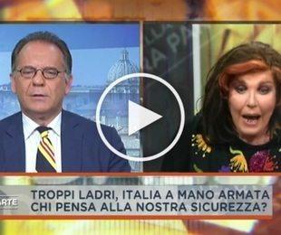 """Cecchi Paone, rissa in diretta tv con Patrizia De Blanck: """"Ti mando a f..."""""""
