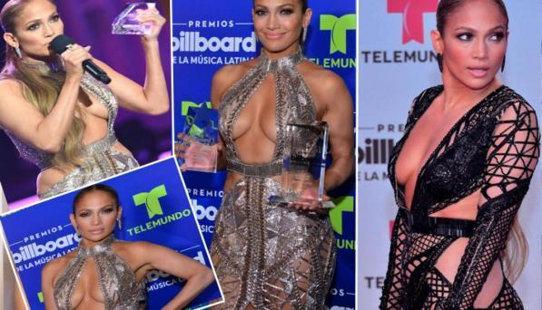 Jennifer Lopez, bomba esplosiva senza intimo