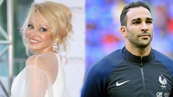 Pamela Anderson, è scoppiato l?amore con il calciatore Adil Rami?