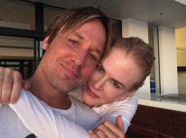 Keith Urban, auguri a Nicole Kidman: