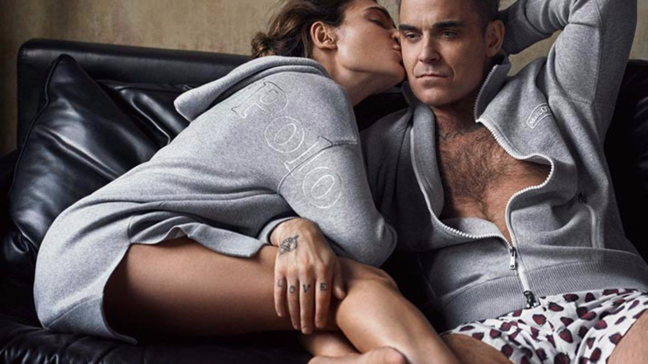 "Robbie Williams: ""Love my life"" sulla felpa"