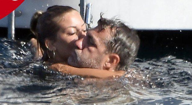 Christian Vieri- Costanza Caracciolo è amore, ecco il bacio