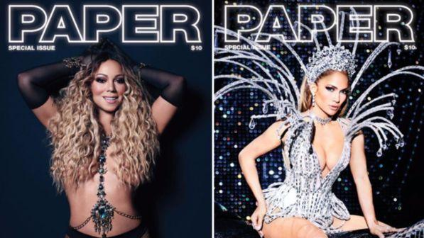 J-Lo e Mariah Carey, sfida sexy a Las Vegas per le due dive rivali