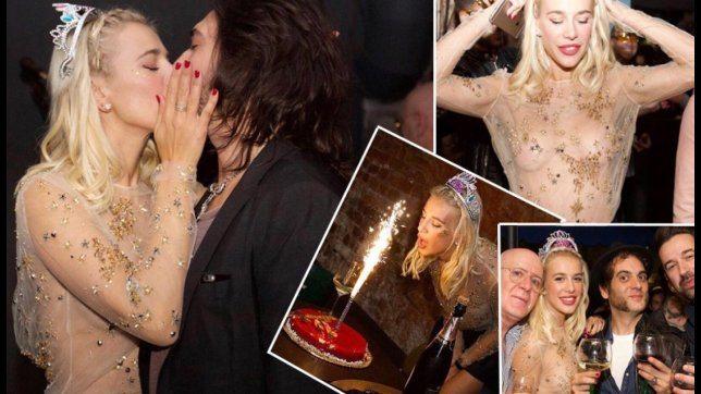 Clizia Incorvaia, guarda il compleanno con Sarcina