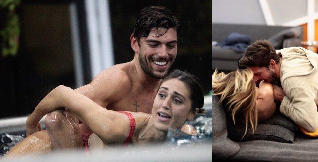 Cecilia Rodriguez e Ignazio Moser avvinghiati in piscina. E lui bacia anche Aida Yespica…