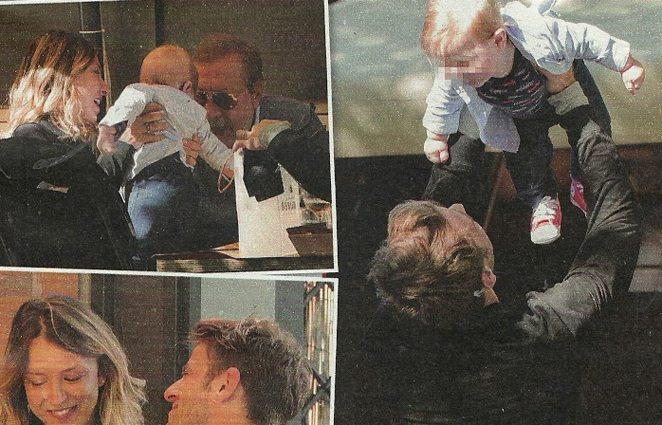 Myriam Catania e Quentin al settimo cielo, prime passeggiate col figlio Jacques