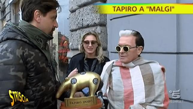 """Tapiro d?Oro a Malgioglio: """"Il Grande Fratello l'ho vinto io"""""""