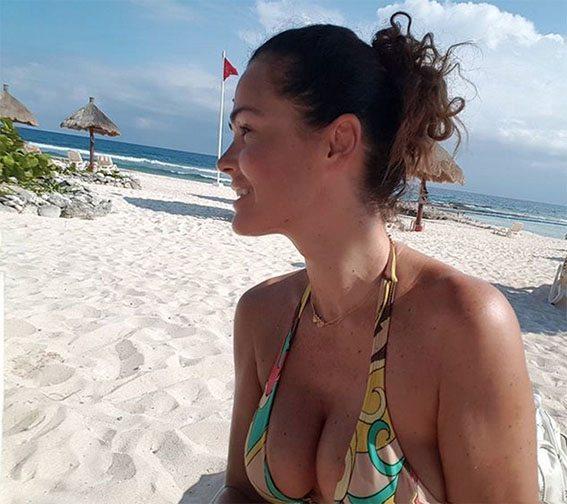 Samantha De Grenet mostra l?abbronzatura... messicana