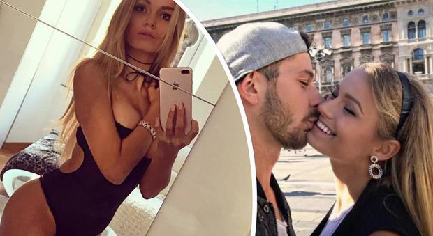 "Mercedesz Henger presenta il fidanzato Leonardo: ""Stiamo insieme da nove mesi"""