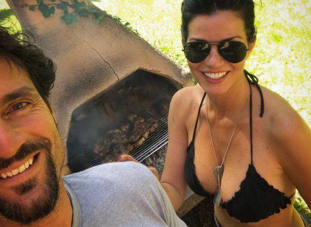 Laura Torrisi e il fidanzato Luca Betti inseparabili: cenetta romantica dopo la gara sul ghiaccio