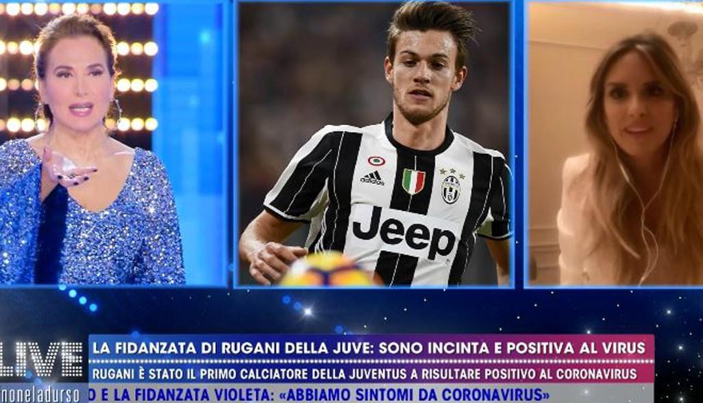 Michela Persico, la fidanzata di Daniele Rugani a Live: «Incinta e positiva al coronavirus, sono andata in tilt»